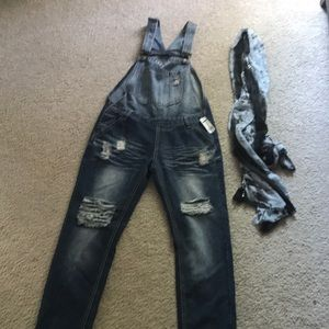 Pants - Denim jumper